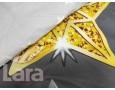 Постельное белье LARA ранфорс d12017e евро 4 наволочки в комплекте