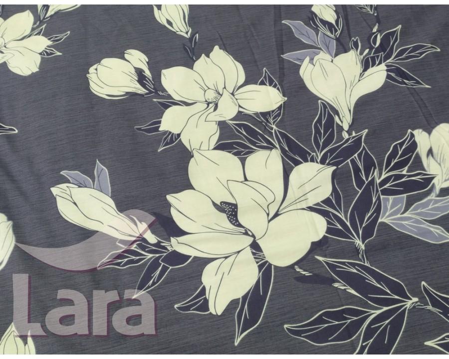 Постельное белье LARA ранфорс d12011d двуспальное 4 наволочки в комплекте
